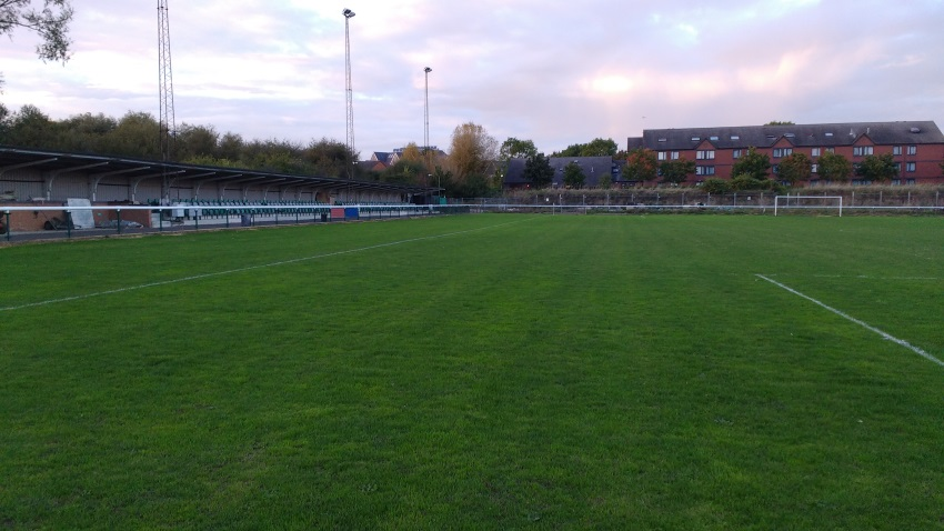 Milton Keynes Irish Centre football pitch